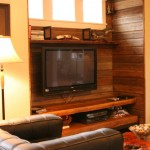 Completed Television Nook